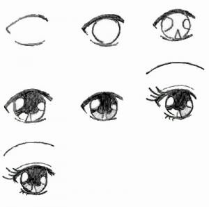 How to draw Anime Eyes :)