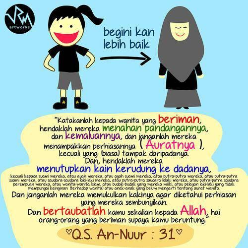 Menutup Aurat is Better >.<