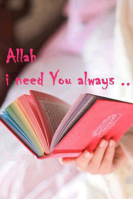 Allah, without You im nothing :)
