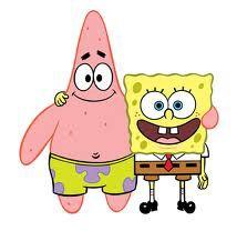 katakalian spongebob dan patrick dan patrick idiot gak -kata aku IDIOT