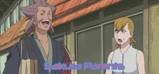 ini dia orang tua haruno sakura haha..