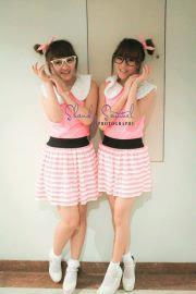 twins \(^o^)/ cantikan yang mana ?? jangan lupa wow nya yaa ;)