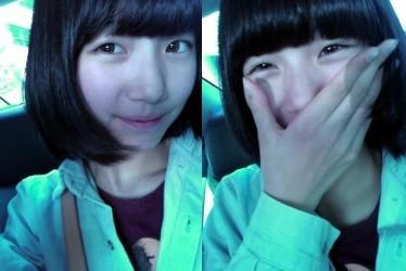 "Suzy Miss A. Cewek korea yang dapet julukan ""The Nation First Love"" wow. kecilnya aja imut hehe :) :D"