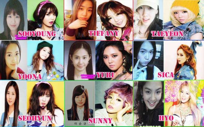 Girls Generation Predebut Picture - Now ~~~ Yang suka bilang Snsd oplas silakan liat foto ini ^^ ~