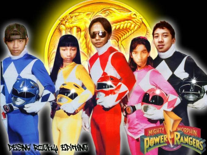 Dibalik Layar Power Rangers