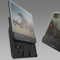 Sony Ericsson memang sudah cukup lama mengeluarkan Xperia Play yang dijuluki sebagai ponsel PlayStation. Namun handset konsep ini tampaknya lebih menarik. Layarnya lebih lega dan bentuknya pun keren.