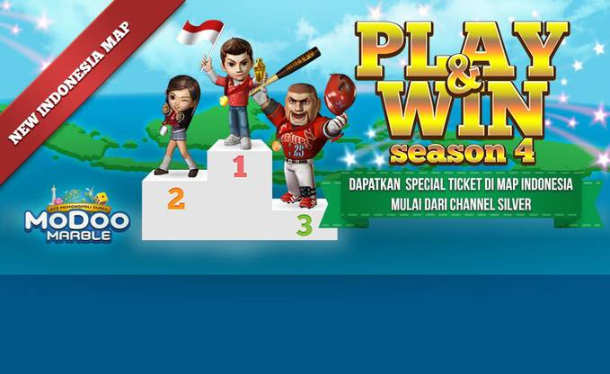 Jadilah Orang Ke 800.000 yang memainkan game ini maka kami akan berikan 400 lucky tiket ayo buruan download gamenya dan daftar https://member.netmarble.co.id/join/member_join.asp untuk downloadnya http://modoo.netmarble.co.id/download/download