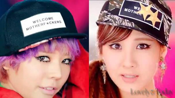 Sunny dan Seohyun di I got boy, dan di akhir video clip dancing queen.. yang memakai topi yang tulisannya tidak baik... Ini menjadi kontrofersi,, katanya siih mau di delete/ di bikin video clip yang baru...