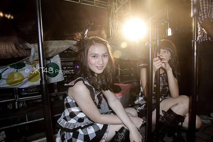 MELODY JKT48 :) Pagi-oagi disambut dengan senyumannya yang WOW :)