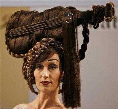 Ayo siapa yang mau model rambut kayak gini ?? :D Wow., Wow.,Wow