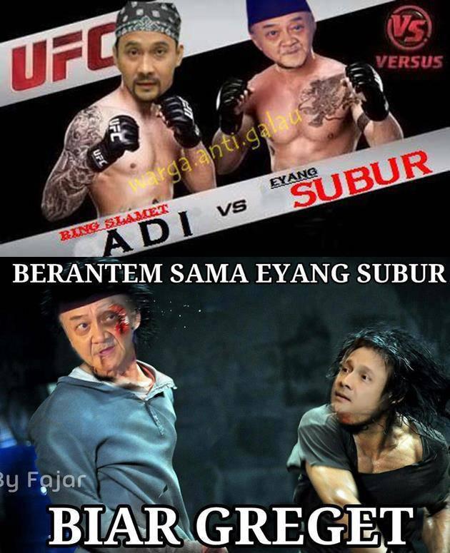 ADI BING SLAMET VS Eyang SUbur... :o