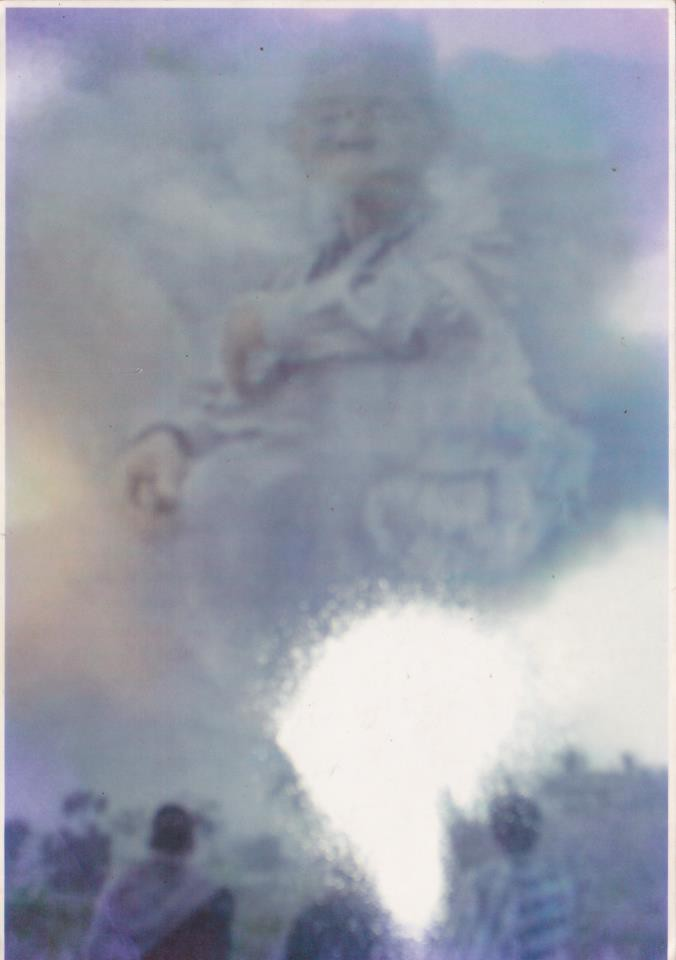 Gambar saat Gunung Merapi Meletus Gg tau Asli atau gg,..kyknya asli