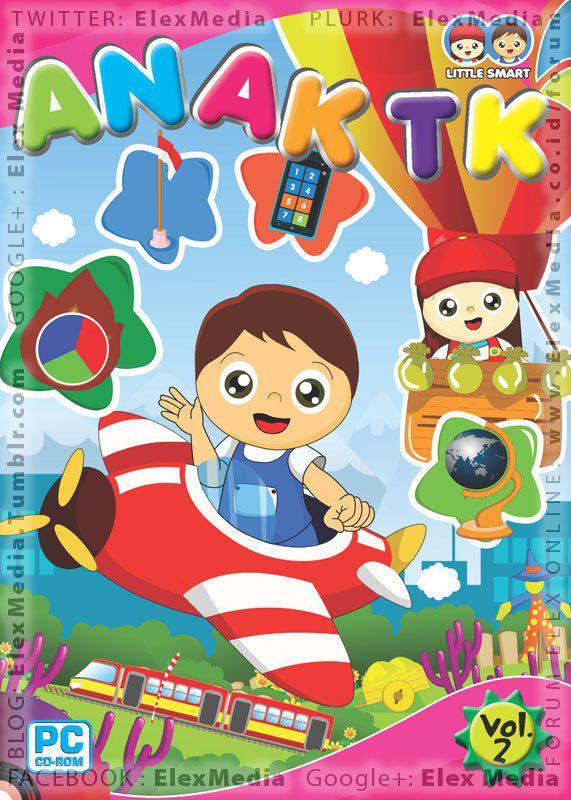 Belajar asyik & seru bersama Nana & Nino, mereka siap membantu adik memahami berbagai materi pelajaran di sekolah. CD LITTLE SMART - Anak TK vol. 2 http://ow.ly/kFnq9 Harga: Rp75.000