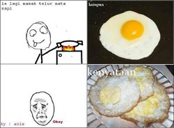masak telur
