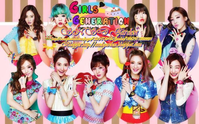 SNSD/Girls Generation ini beranggotakan 9 orang yaitu Yuri , Sunny , Sooyoung , Taeyeon , Jessica , Yoona , Seohyun , Hyoyeon , dann Tiffany.. Mereka memberi nama fans mereka SONE.. Bagi yang merasa SONE klik WOW yah!!!!!