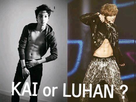 KAI EXO-K OR LUHAN EXO-M