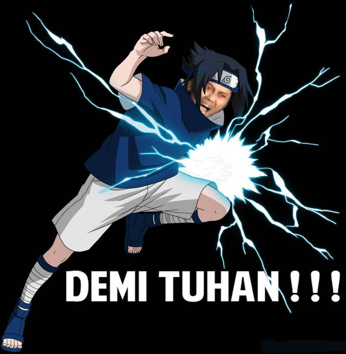 Ternyata Arya Wiguna mengajar Sasuke jurus DEMI TUHAN!! :D