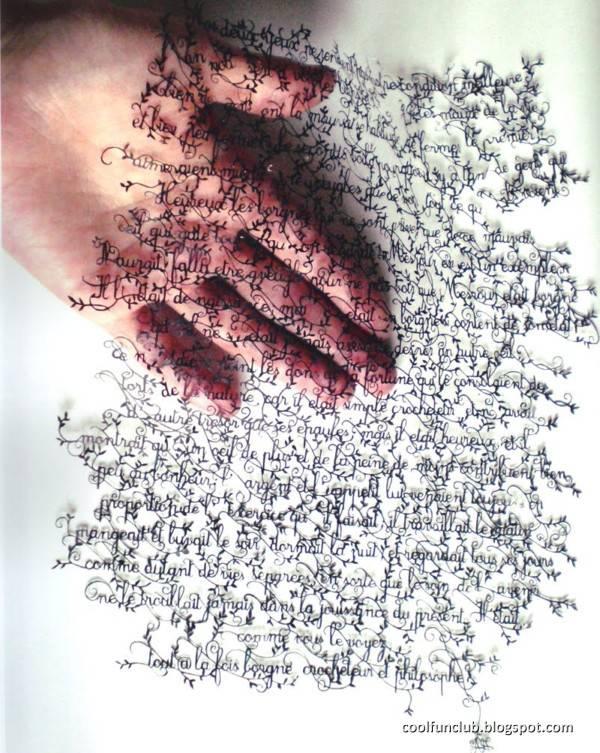 Seni menggunting kertas tingkat dewa part II . WOW