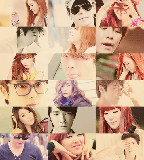 Super Generation Donghae and Tiffany for all SONELF... ;)