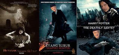 """wkwkwk berbagai Eyang Subur ada Disini ada Harry potter,Deathly santet,Vampire Hunter,Beranak Dengan Subur wkwkwkwkwkwkkw memang ni Ngakak,,,ngomong"""" adi Bing slamet Butuh Wow ni Buat Ngeledek Eyang Subur Terus,Mana Wownya?"""