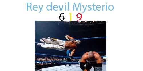 ingat dengan rey mysterio pasti ingat dengan 6 1 9