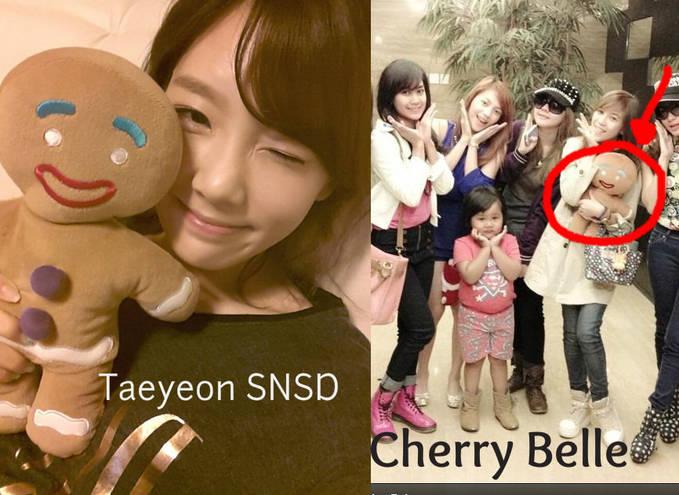 Cherry Belle plagiat Taeyeon SNSD-___- kamse ih. bisanya ngikutin aja:p