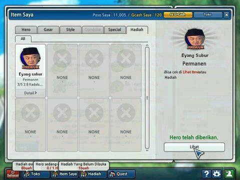 Ada Yang Main Game Lost Saga Indonesia,Editan Me