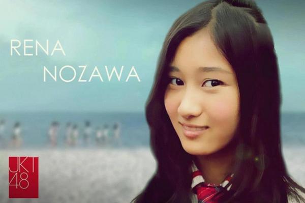 """Siapa yg Oshinya Rena Nozawa atau Rena-chan ? Wanita ini Salah satu member JKT48 yg asalnya dari Jepang """"Nagoya"""" Rena bisa mempelajari Bahasa Indonesia dengan cepat dalam waktu 9 Bulan. dan kemarin berulang tahun yg ke 15."""