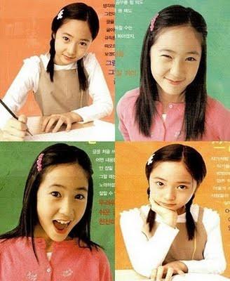 Krystal Jung f(x) Pre-Debut... WOW! Unyu bgt ya, Sobat Pulsker... :) ;) :D :I