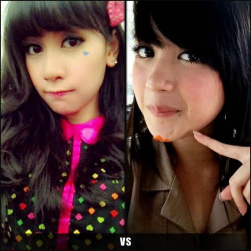 Kalian Pilih Siapa ? Anisa ChiBi Atau Nabilah JKT48 ? Me : Anisa ChiBi You ???