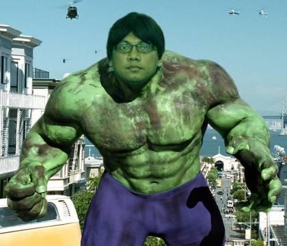 HULK VERSI INDONESIA GAYUS TAMBUNAN :) WOW nya dong klik . wow nya mna ? yang klik wow moga dapat rezeki dan jodoh terbaik !