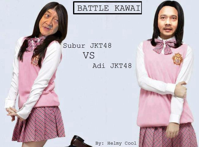 BATTLE KAWAI ! Subur JKT48 VS Asi JKT 48 ! WOW nya ! :D