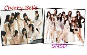 Pilih Cherry Belle apa SNSD ?