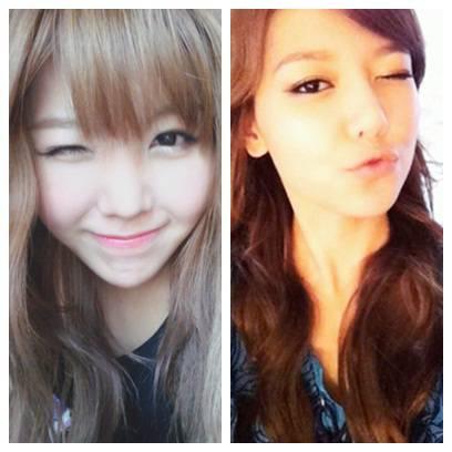 Cantik dan Cute Siapa? Kiri=Raina (After School) Kanan= Sooyoung (SNSD/Girls Generation) Jawab sejujurnya jgn lupa wow nya Calanghae~~~~