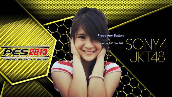 PES 2013 Versi Sonya JKT48