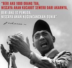 Kata Kata Mutiara Bijak Ir. Soekarno