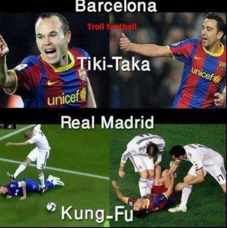 barcelona tiki - taka real madrid kung - fu