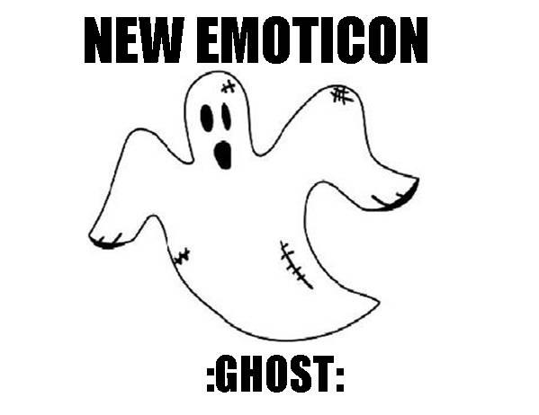 New Emoticon di Facebook :GHOST: