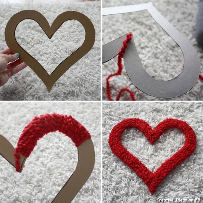 Как сделать сердце для свадьбы - ЛЕГИОН
