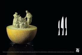 ini pahatan dari buah melon wow y follow twitter q @iskandar_utara1 ntar d follback