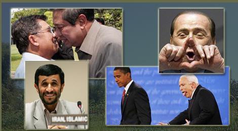 Foto lucu pemimpin Dunia yg berhasil di tangkap kamera... Jangan lupa di WOW ya...