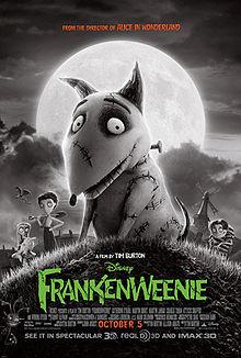 Frankenweenie adalah film keluarga 3D stop motion tahun 2012 komedi-horror disutradarai oleh Tim Burton. Film ini adalah remake dari film pendek Burton sebelumnya dengan judul yang sama dan dirilis tahun 1984, merupakan parodi dan homage dar.