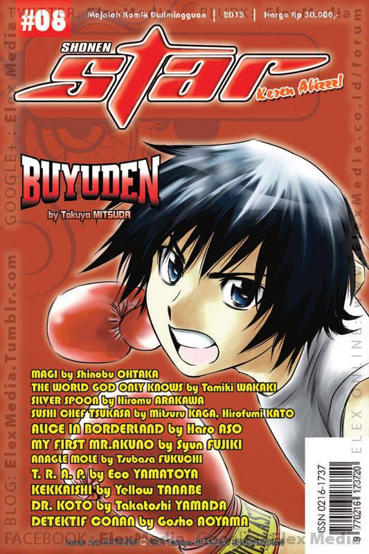 Mau baca Detektif Conan, Silver Spoon, The World God Only Knows, dll tiap bln? Koleksilah majalah komik ini! SHONEN STAR 2013 / 08 http://ow.ly/kTomX Harga: Rp. 30.000