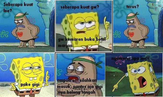 Gambar Funny Meme Spongebob Squarepants Html Image Komik Lucu Memes
