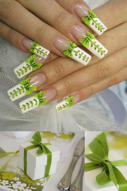 wow keren nail art nya