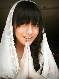 Nabillah JKT48 Cutee pake kerudung ^^