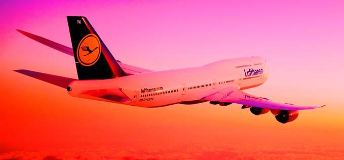 Inilah Boeing 747 terbaru (B747-800) milik lufthansa airlines ,wownya jangan lupa ya sobat