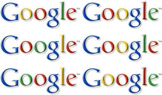 tebak logo google yg benar mana hayoo?? :D