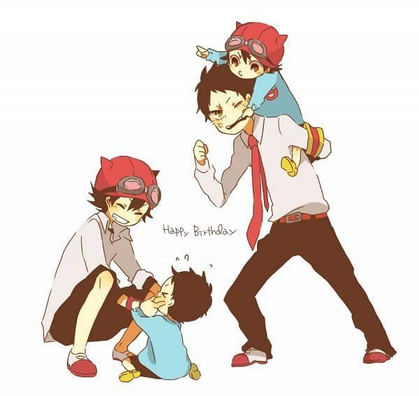Hihi lucu ya :3 :D, ada yg tau anime ini jgn lupa wow ya :)