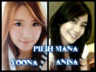 pilih mana YOONA:WOW ANNISA:COMMENT